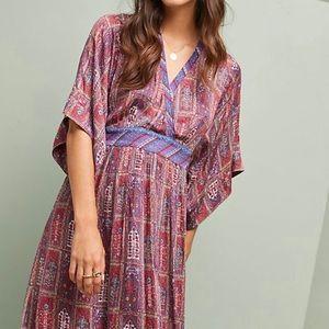 Anthropologie NWT Tiny Kimono Dress